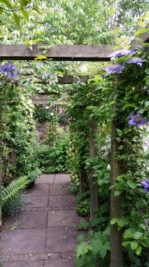 A lovely archway and pergola